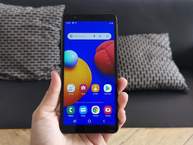 Samsung galaxy A01, HP Android dibawah 1 juta
