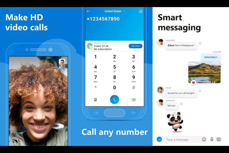 Skype, aplikasi meeting online gratis