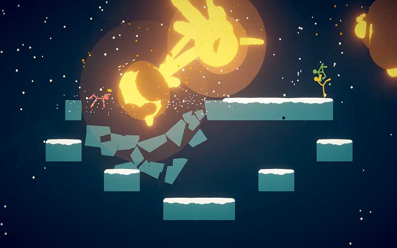 Stick Fight The Game - game PC multiplayer terbaik