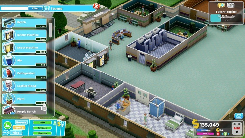 Two Point Hospital, game simulasi PC seru