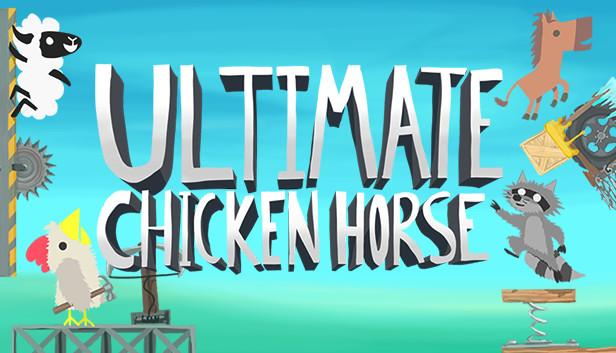 Ultimate Chicken Horse - game PC multiplayer terbaik