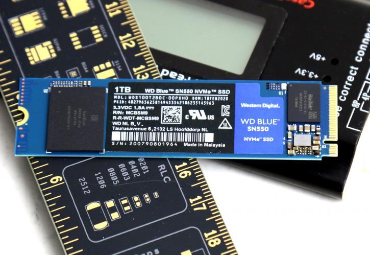 WD Blue SN550, SSD terbaik 2021