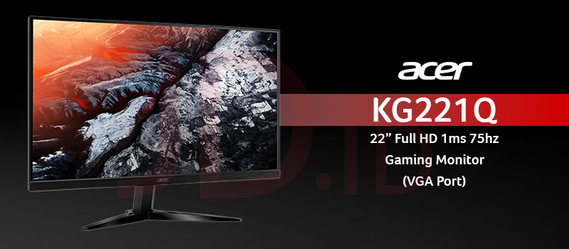 Acer KG221Q, monitor PC gaming murah 2021