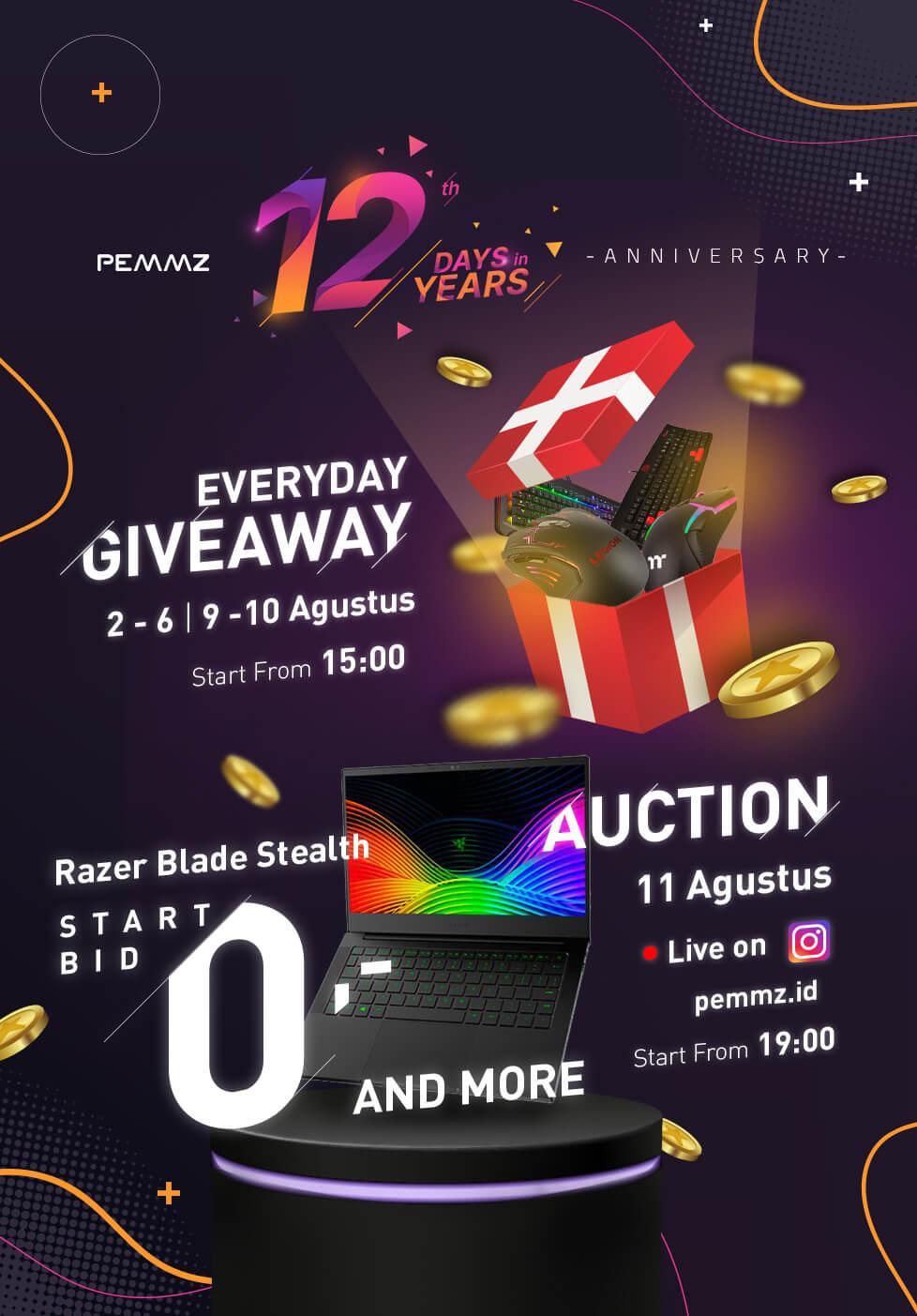 Pemmz 12 Years Anniversary