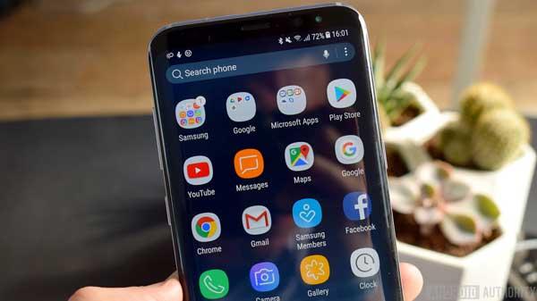 Aplikasi bawaan Samsung juga menjadi aplikasi yang menguras baterai