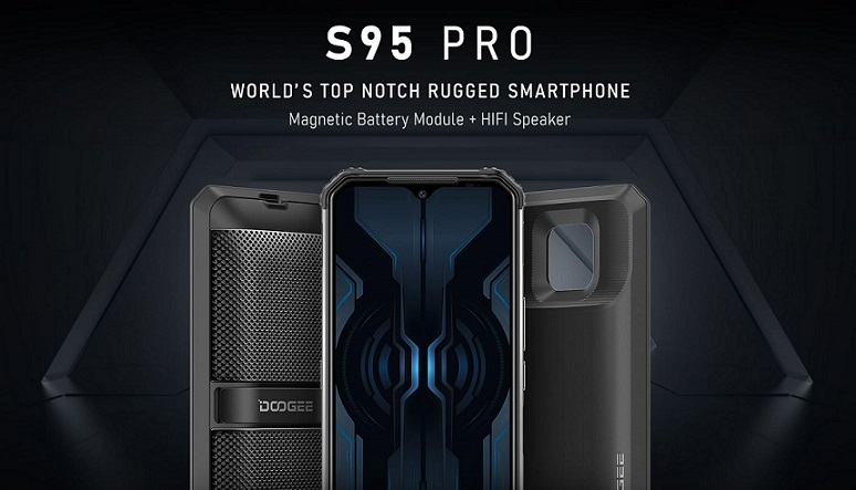 Doogee S95 Pro, HP tahan banting