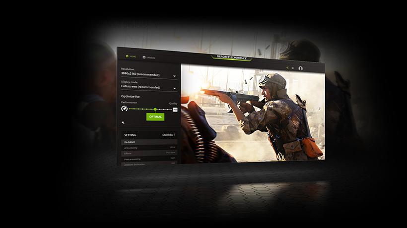 GeForce Experience, aplikasi game booster terbaik