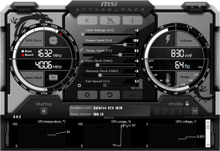 MSI Afterburner, aplikasi game booster terbaik