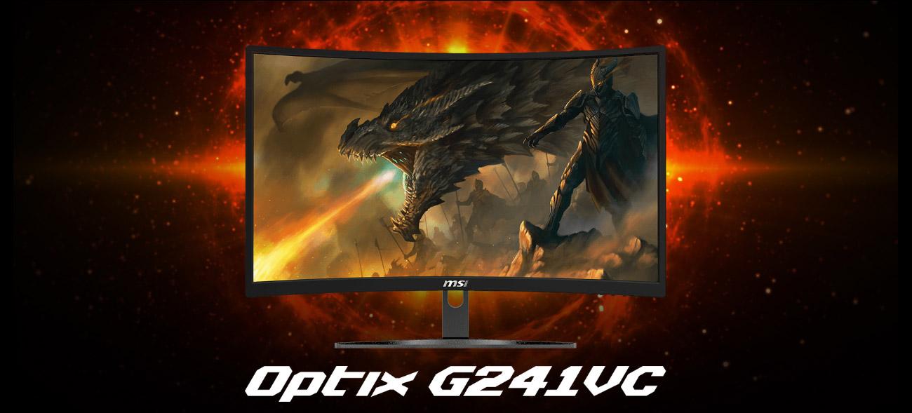MSI Optic G241VC, monitor PC gaming murah 2021