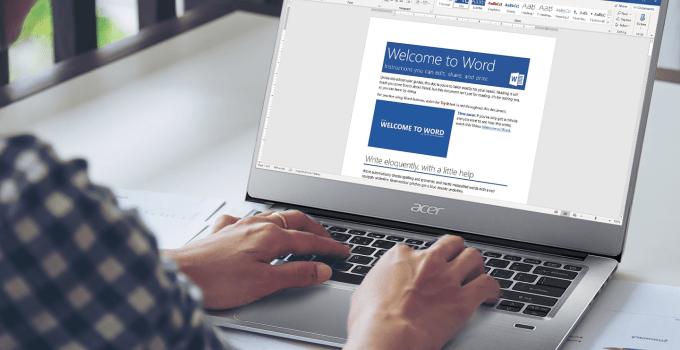 Office, aplikasi untuk laptop baru