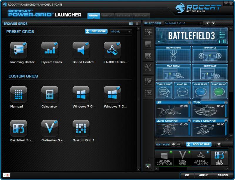 ROCCAT Power Grid, aplikasi game booster terbaik