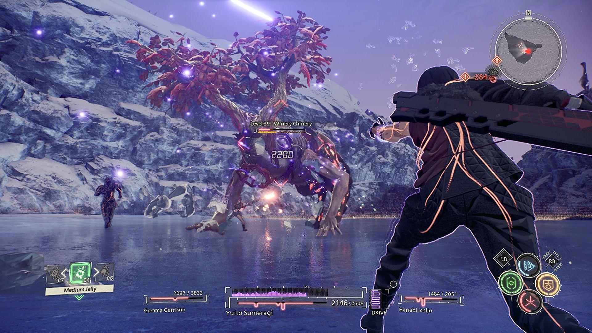 Sistem gameplay, review Scarlet Nexus