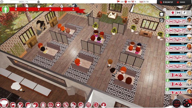 Chef A Restaurant Tycoon Game, game PC memasak terbaik