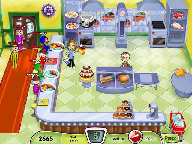 Cooking Dash, game PC memasak terbaik