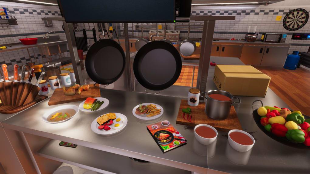 Cooking Simulator, game PC memasak terbaik