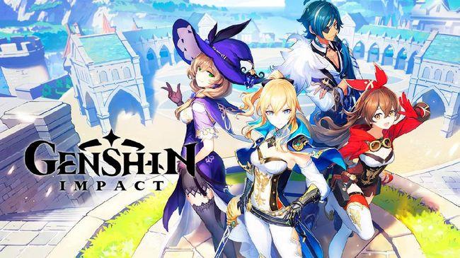 Genshin Impact, game cross platform populer