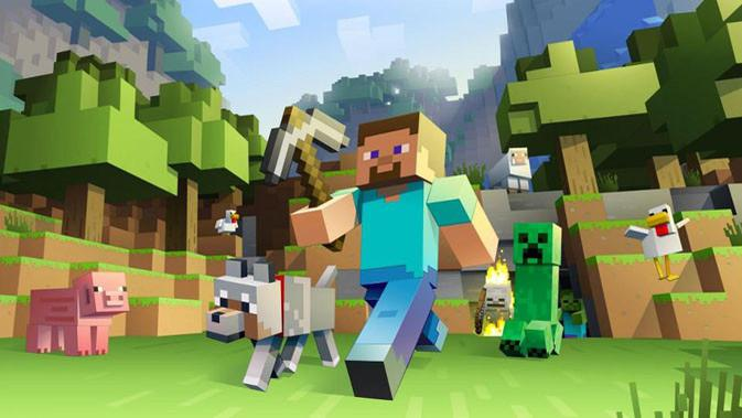 Minecraft, game online PC jadul