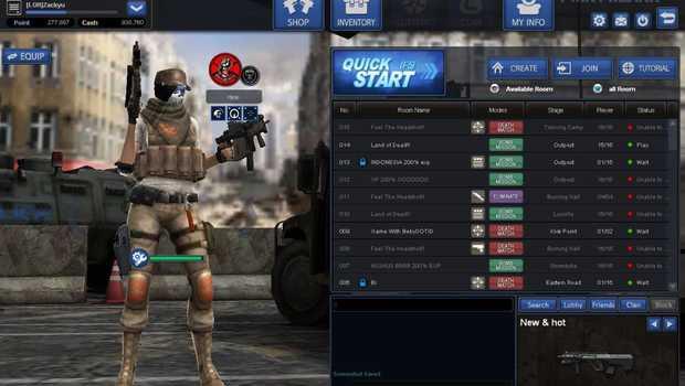 Point Blanck, game online PC jadul